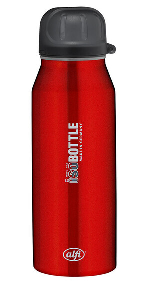 alfi IsoBottle Trinkflasche 350ml rot